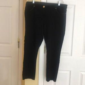 Chico's black slack pant